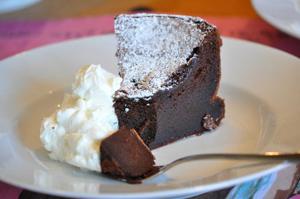 Fallen Chocolate Soufflé Cake (Mike's Recipe) | Camille ...