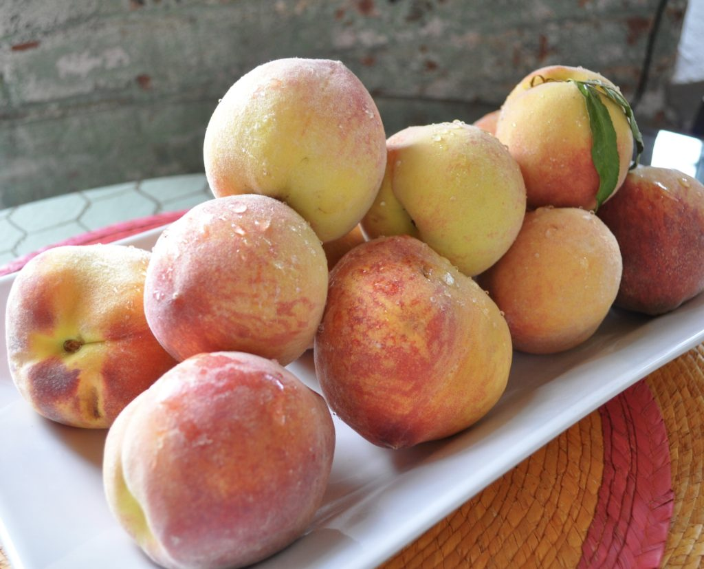 peach season deliciousness camille cooks for you